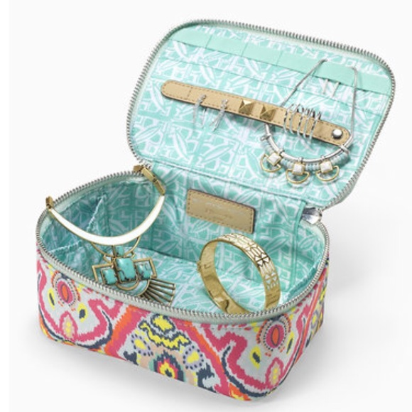 Stella Dot Bags New Stella Dot Travel Jewelry Box In Multi Ikat
